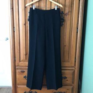Cassis Pants - Cassis Wide leg side zip dress pants